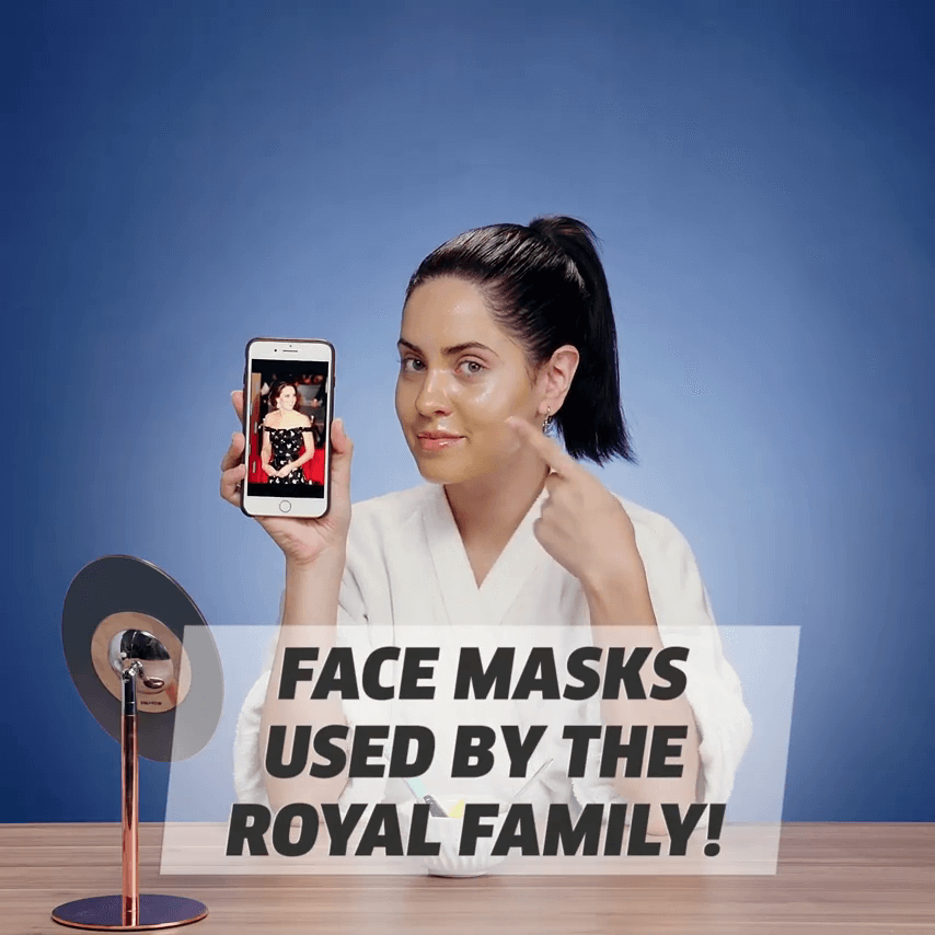 Face Masks Used By The Royal Family
