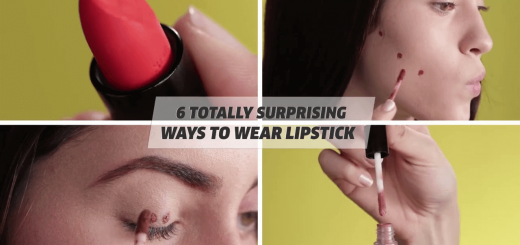 6 Totally Surprising Ways To Wear Lipstick