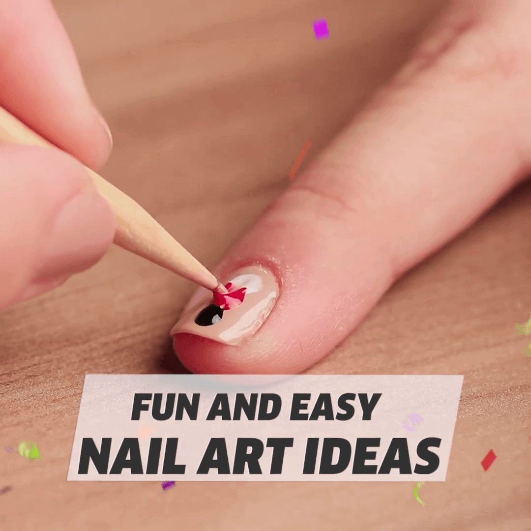 Fun And Easy Nail Art Ideas