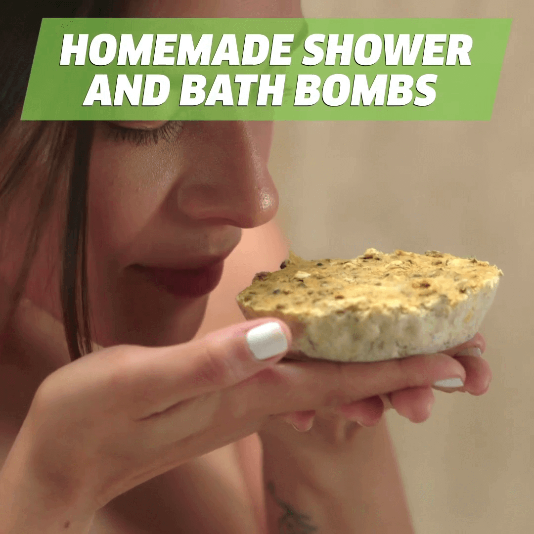 Homemade shower and bath Bombs