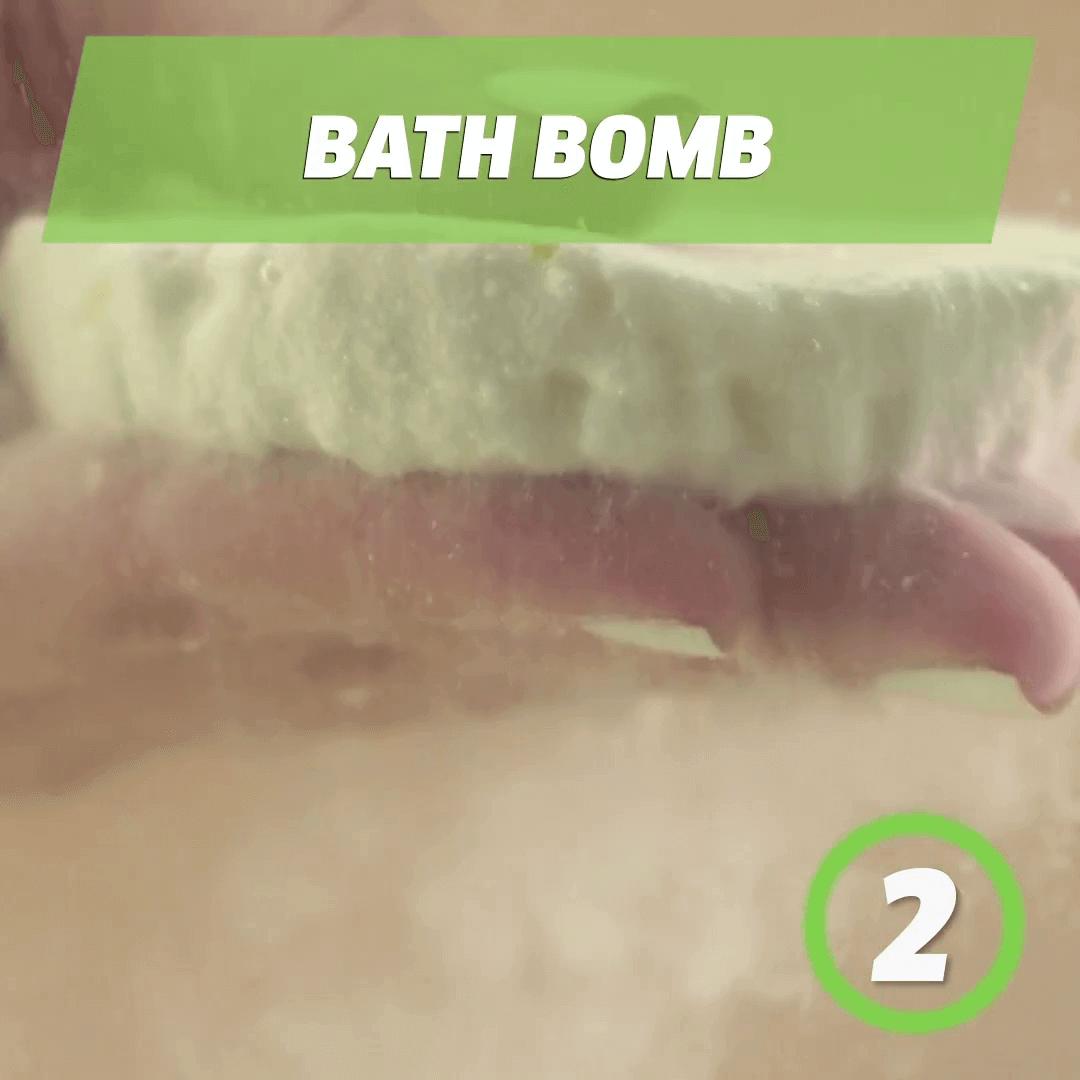 Homemade shower and bath Bombs