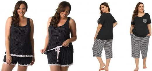 5 plus size pajamas for a comfortable and cool sleep all night