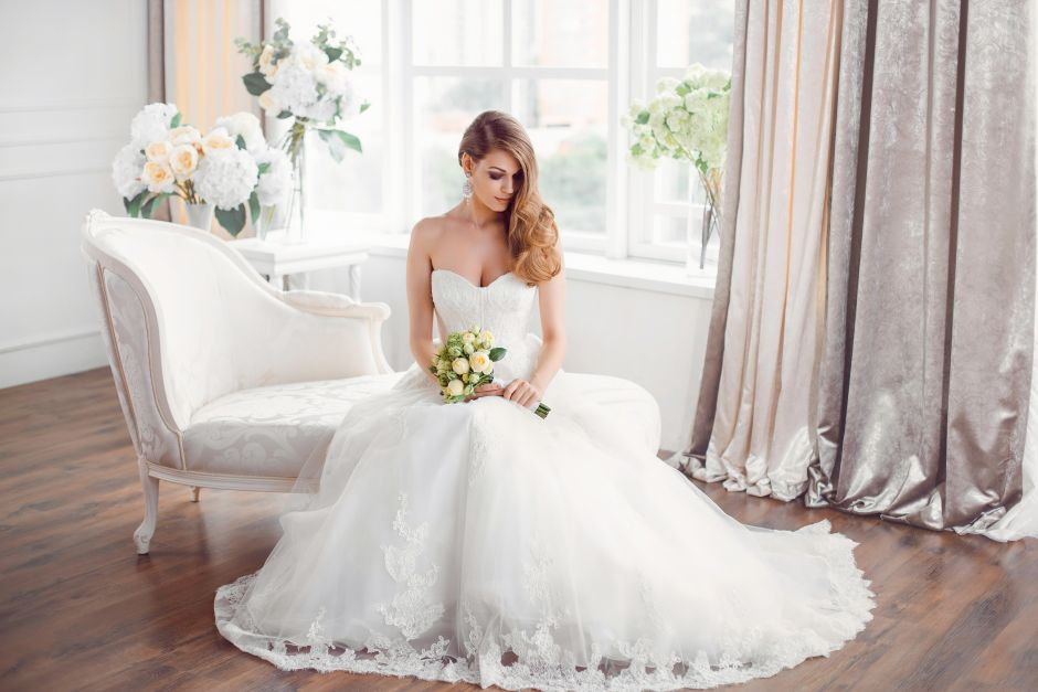 best sweetheart neckline wedding dresses