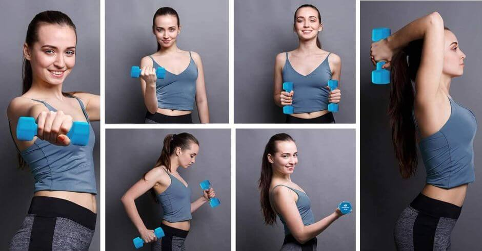 dumbbells that will help you tone your muscles while losing weight